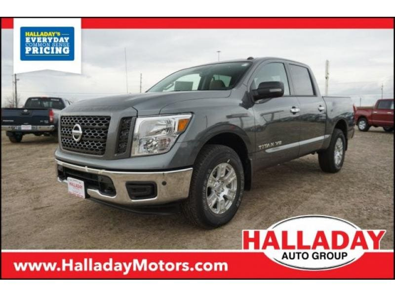 Featured new 2019 Nissan Titan SV Truck Crew Cab for sale in Cheyenne, WY
