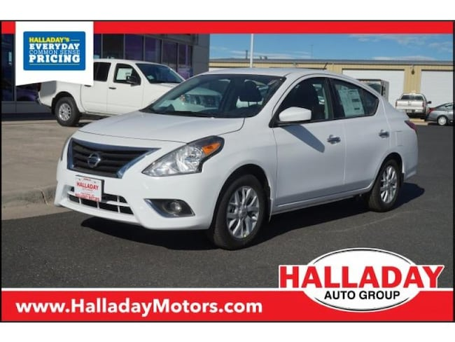 New 2019 Nissan Versa 1.6 SV Sedan in Cheyenne, WY