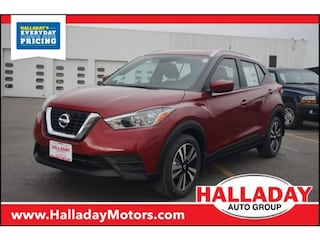 New 2018 Nissan Kicks SV SUV N543977 in Cheyenne, WY