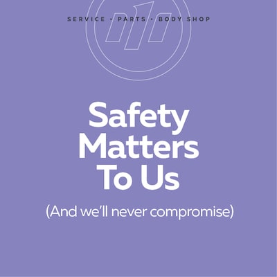 Safety Matters To Us.