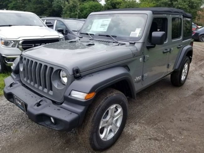 New 2018 Jeep Wrangler UNLIMITED SPORT S 4X4 Sport Utility for sale in Virginia Beach