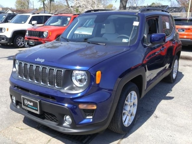 New 2019 Jeep Renegade LATITUDE FWD Sport Utility for sale in Virginia Beach