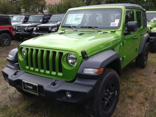 New 2018 Jeep Wrangler UNLIMITED SPORT 4X4 Sport Utility for sale in Virginia Beach