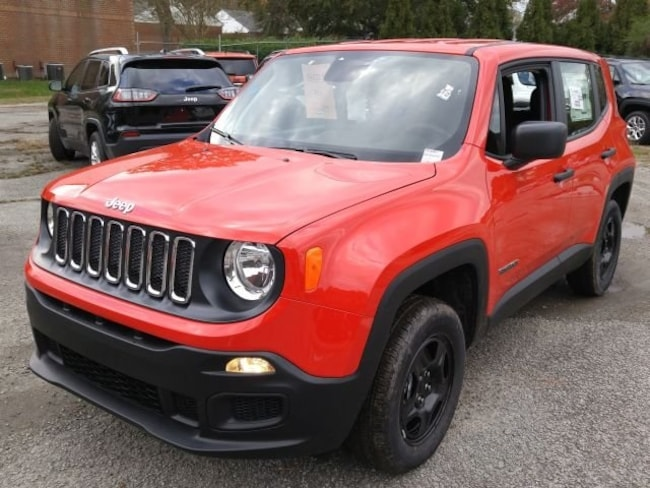 New 2018 Jeep Renegade SPORT 4X4 Sport Utility for sale in Virginia Beach