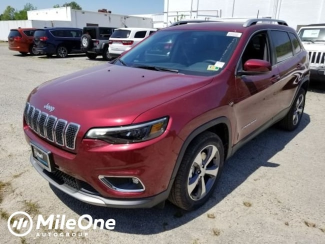 New 2019 Jeep Cherokee LIMITED FWD Sport Utility for sale in Virginia Beach