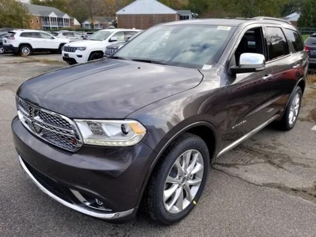 New 2019 Dodge Durango CITADEL RWD Sport Utility for sale in Virginia Beach