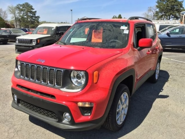 New 2019 Jeep Renegade LATITUDE 4X4 Sport Utility for sale in Virginia Beach