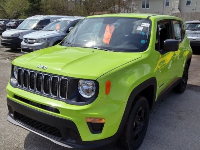New Jeep Renegade >> New 2019 Jeep Renegade Sport 4x4 For Sale In Virginia Beach Va