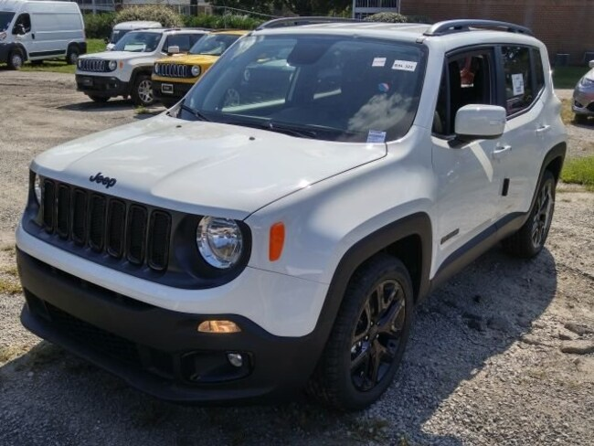 New 2018 Jeep Renegade ALTITUDE 4X2 Sport Utility for sale in Virginia Beach