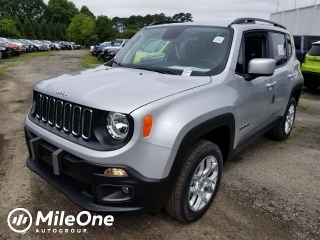 New 2018 Jeep Renegade LATITUDE 4X4 Sport Utility for sale in Virginia Beach