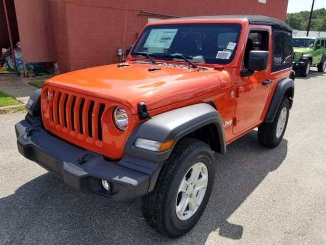 New 2018 Jeep Wrangler SPORT S 4X4 Sport Utility for sale in Virginia Beach