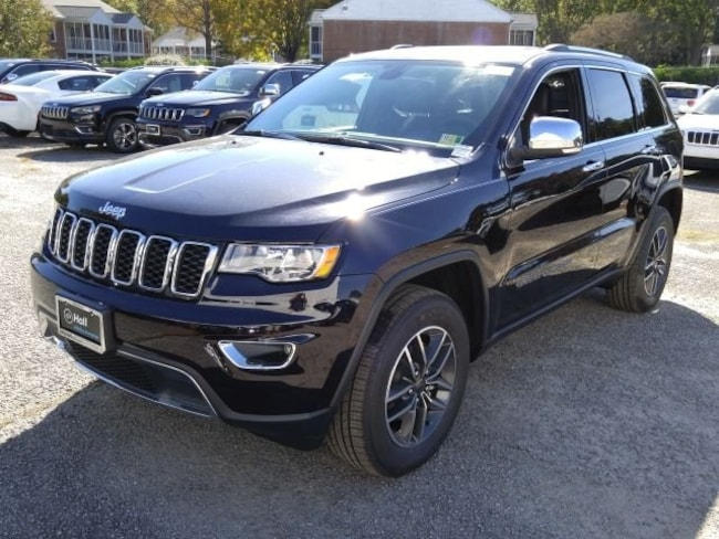 New 2019 Jeep Grand Cherokee LIMITED 4X4 Sport Utility for sale in Virginia Beach