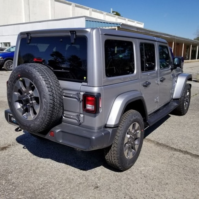 New 2018 Jeep Wrangler UNLIMITED SAHARA 4X4 For Sale In