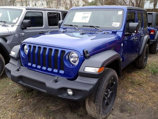 New 2019 Jeep Wrangler UNLIMITED SPORT 4X4 Sport Utility for sale in Virginia Beach