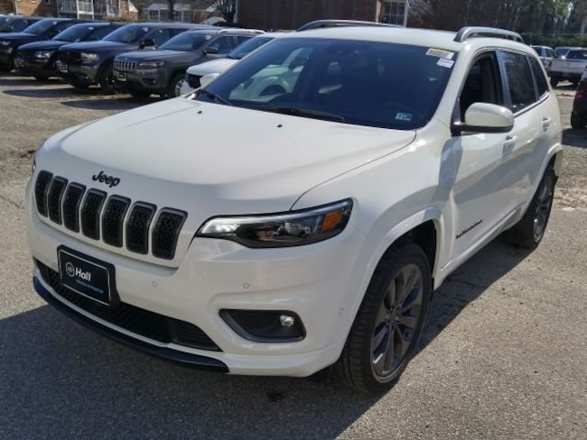 New 2019 Jeep Cherokee HIGH ALTITUDE FWD Sport Utility for sale in Virginia Beach