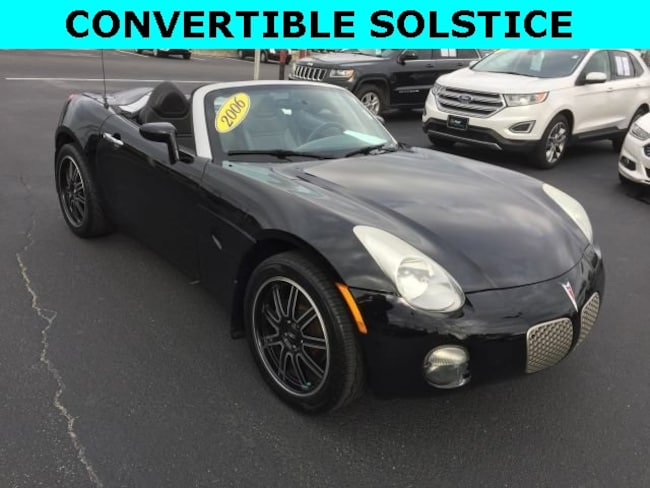 2006 Pontiac Solstice Base Convertible