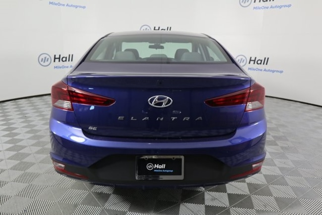 new 2019 hyundai elantra for sale at hall hyundai. Black Bedroom Furniture Sets. Home Design Ideas