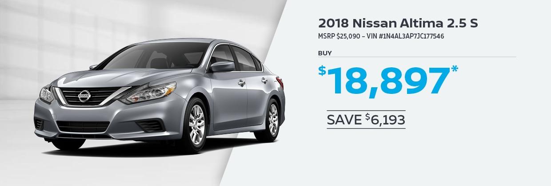 Nissan Specials | Hall Nissan Virginia Beach | Near Norfolk, VA