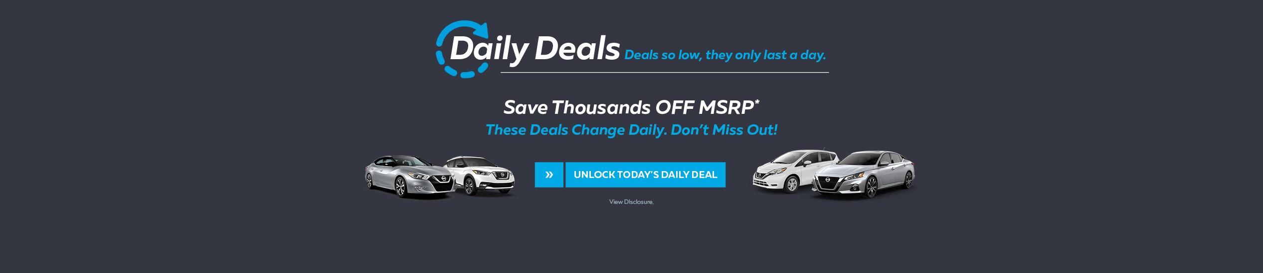 Nissan Virginia Beach >> New & Used Nissan Models | Nissan Dealer Near Me
