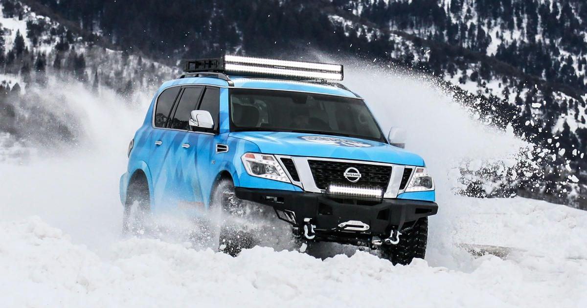 Hall Nissan Virginia Beach | New Nissan Armada One-Off Debuts at ...