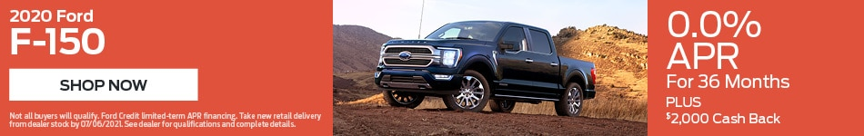 2020 Ford F-150 - April