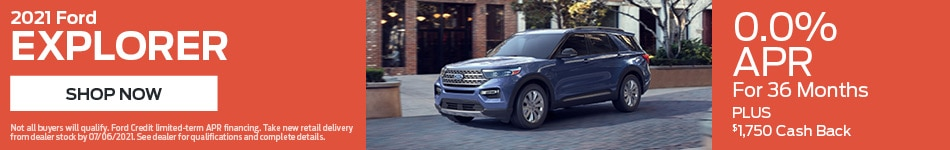 2021 Ford Explorer - April