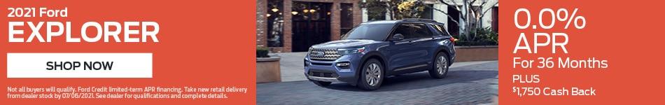 2021 Ford Explorer - April