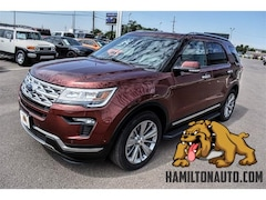 New 2018 Ford Explorer Limited SUV FT08835 in Clovis, NM