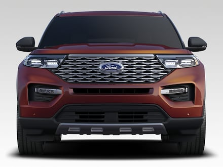 New 2020 Ford Explorer Platinum SUV for sale in Clovis, NM