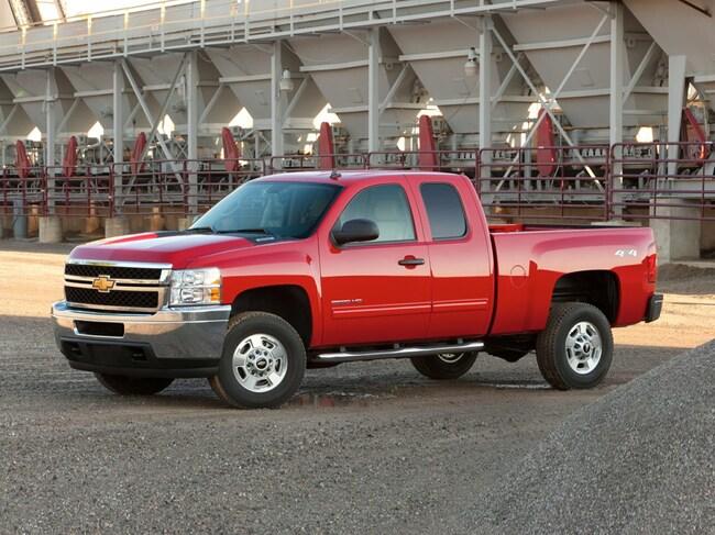 Pre-Owned 2013 Chevrolet Silverado 2500HD WT Truck Crew Cab for sale in Clovis, NM