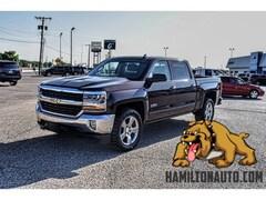Pre-Owned 2016 Chevrolet Silverado 1500 LT w/1LT Truck Crew Cab 3GCPCREC5GG256797 for sale in Clovis, NM