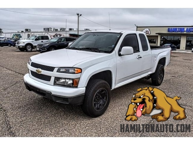 Pre-Owned 2012 Chevrolet Colorado Work Truck 4x4 Extended Cab Truck Extended Cab for sale in Clovis, NM