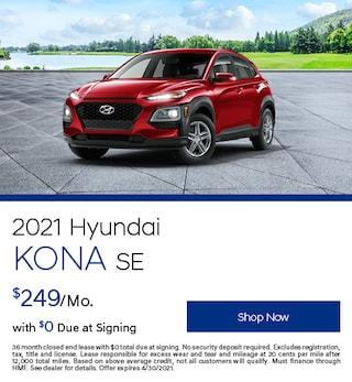 2021 Hyundai Kona SE - April