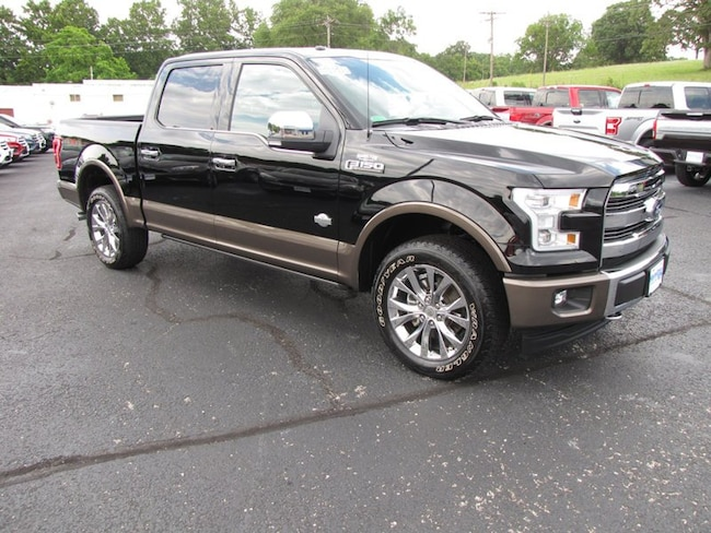 2017 Ford F-150 King Ranch 4WD SuperCrew 5.5 Box Truck SuperCrew Cab