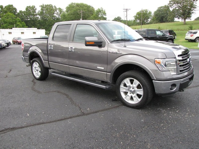 2013 Ford F-150 4WD SuperCrew 145 Lariat Truck SuperCrew Cab