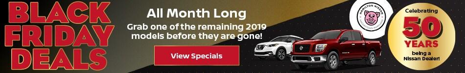 2019 - Nov New Specials