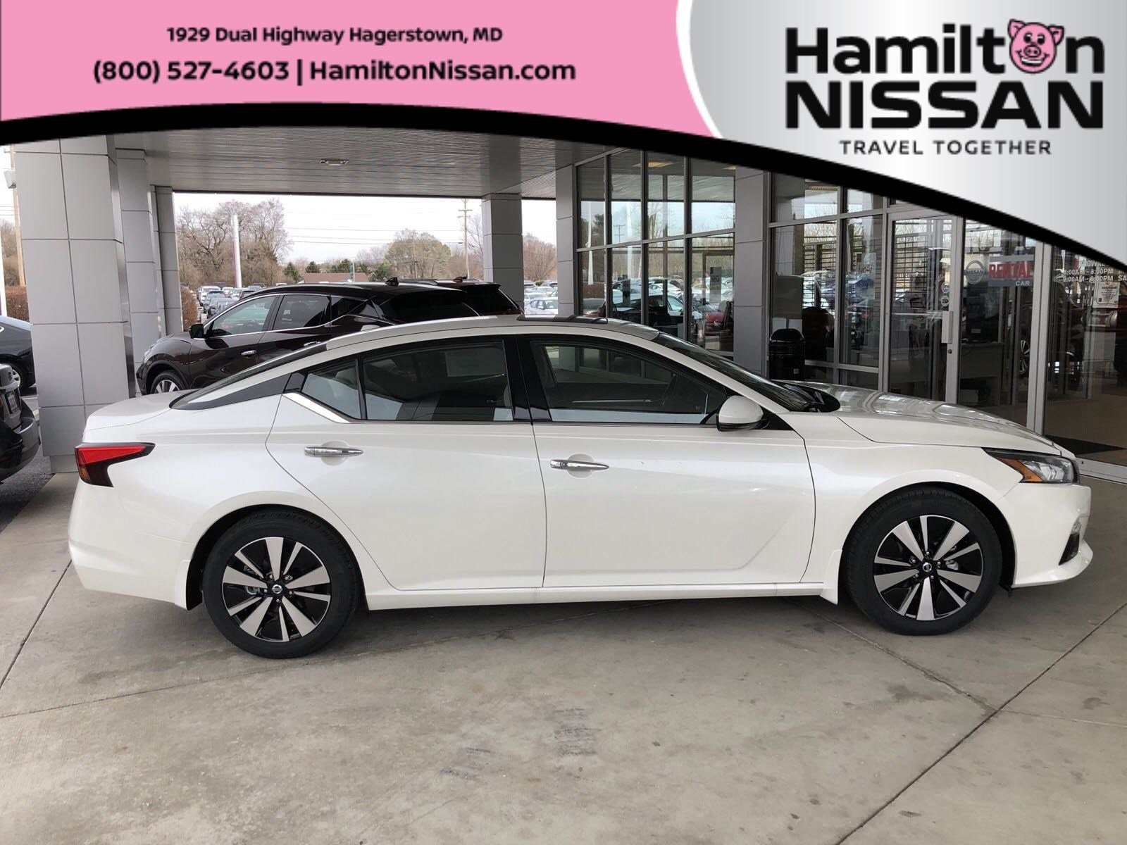 New 2019 Nissan Altima 2 5 SV For Sale in Hagerstown, MD | 1N4BL4DV7KC200068