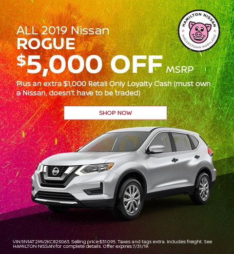 2019 - July ALL 2019 Nissan Rogue