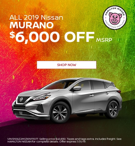 2019 - July ALL 2019 Nissan Murano