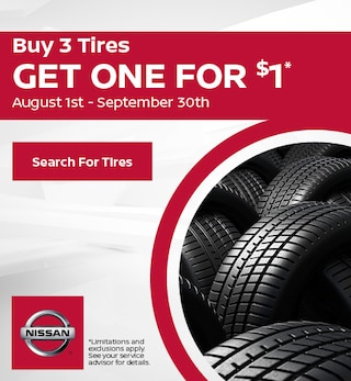 2019 - August Tire Offer