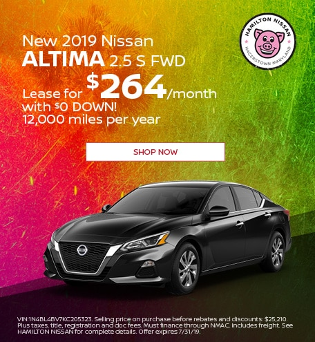 2019 - July New 2019 Nissan Altima 2.5 S FWD