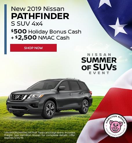 May 2019 Nissan Pathfinder