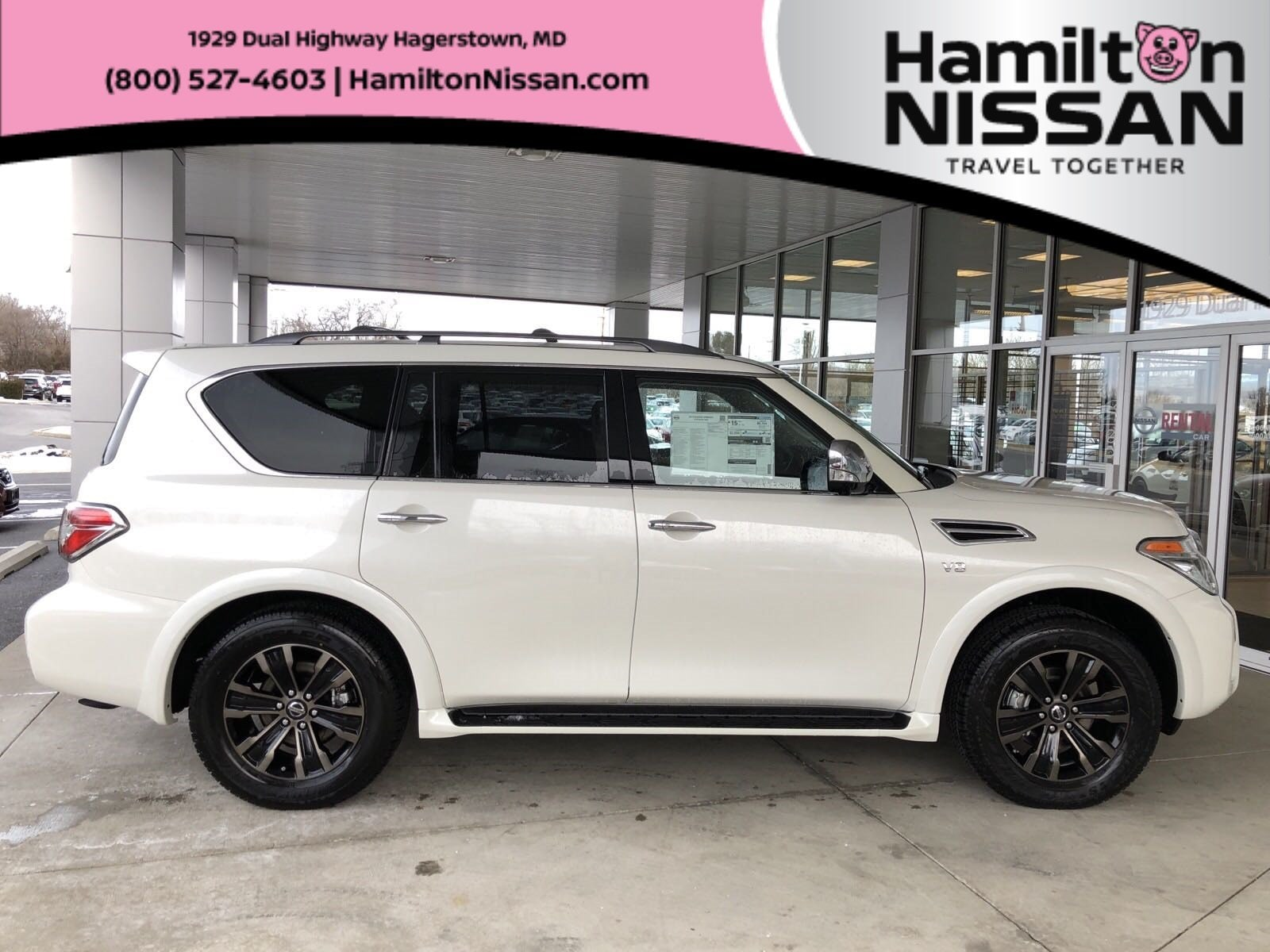 New 2019 Nissan Armada Platinum For Sale In Hagerstown Md