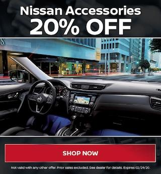 20% Nissan Accessories