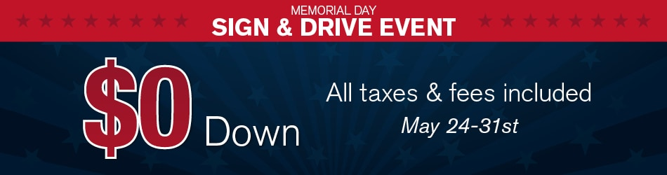 2016 Memorial Day Sign And Drive Event