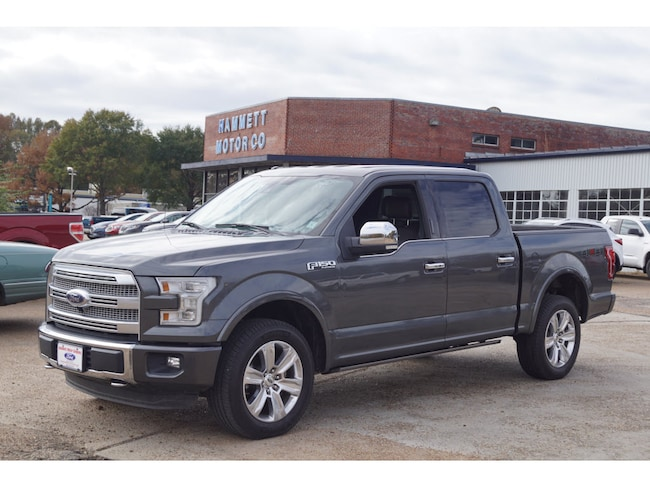 2015 Ford F-150 Platinum 4x4 Platinum  SuperCrew 5.5 ft. SB