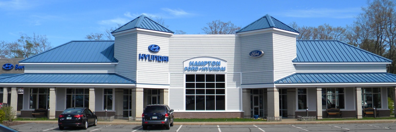 Hampton Ford Hyundai's State of the Art Dealership built in 2003