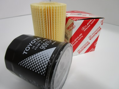 Save $1.50 on Toyota Oil Filters