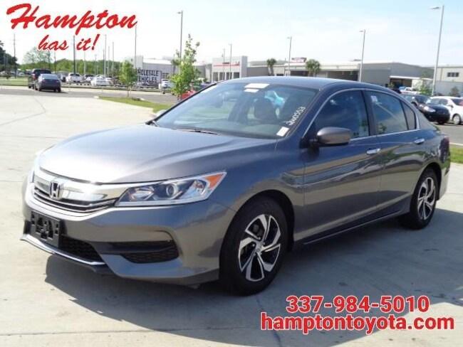 2016 Honda Accord Sedan LX Sedan