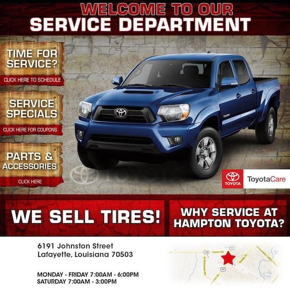 Toyota Lafayette La >> Hampton Toyota